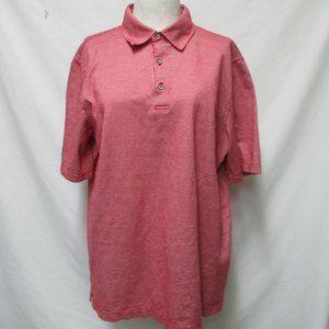 Vintage Bobby Jones Men's Golf Polo Shirt Large Lg